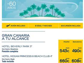 CANARIAS ESPECIAL MAYORES DE 60