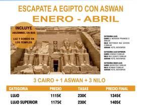 ESCAPATE A EGIPTO CON ASWAN