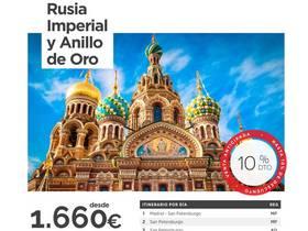 RUSIA IMPERIAL Y ANILLO DE ORO